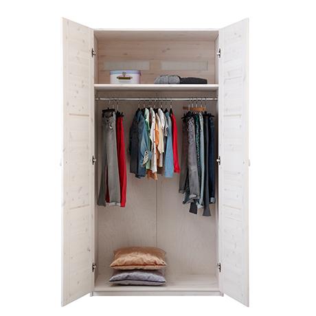 Kleiderschrank mit 2 Türen